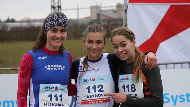 Na republikovém šampionátu v přespolním běhu se atletům z kraje dařilo. Foto: Jaromír Korbel