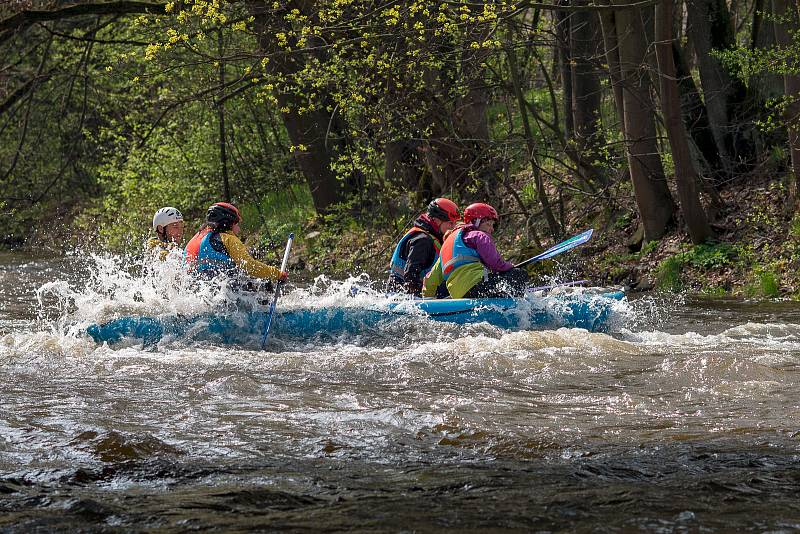 Otevírání vodácké sezony 2019.