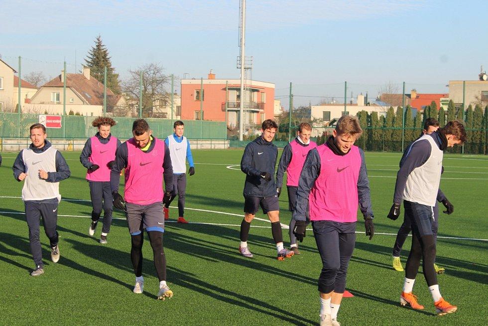 Fotbalisté SFC zahájili zimní přípravu.