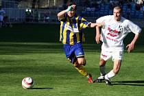 Fotbalový záložník Zdeněk Partyš se během jara rozehrál ke skvělým výkonům.