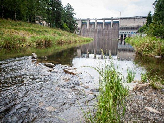 Vodní nádrž Kružberk. Ilustrační foto.