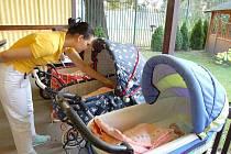 V Čtyřlístku se o všechny děti včetně nalezeného chlapečka starají školené zdravotní sestry. Ilustrační foto.