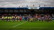 Plzeň - Zápas třetího kola MOL Cupu mezi Viktoria Plzeň a SFC Opava 5. října 2017.