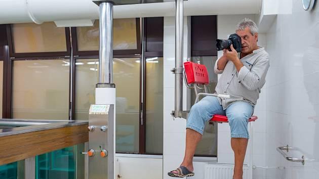 Petr Widenka hrával fotbal, nyní propadl fotografování. Přehlídka jeho snímku