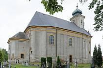 Kostela Neposkvrněného Početí Panny Marie ve Velkých Heralticích.