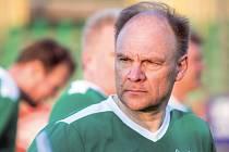 Finský fotbalista a hokejový fanoušek Tapio Korhonen si přátelský zápas s hlučínským výběrem užil.