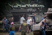 14. ročník výstavy vojenské techniky, který pořádál klub vojenské historie Deštné