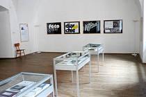 Otakar Karlas vystavuje v Domě umění ukázky své tvorby.