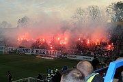 Slezské derby Baník - Opava.