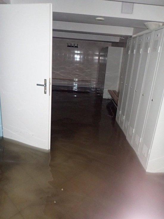 Déšť na Hlučínsku.