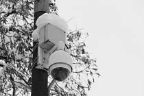 Jeden z osmnácti kamerových bodů ve městě je mimo jiné umístěn také v Riegrově ulici u Kulturního domu Na Rybníčku.