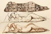 Piačkův obraz Tři grácie.