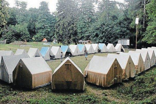 Hygienici zkontrolovali také Lesní stanový tábor Mladecko,