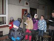 Více než polovina obyvatel celé obce si přišla zazpívat v Lesních Albrechticích.