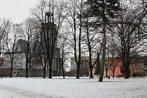 V průběhu tohoto roku projde kompletní revitalizací park vedle kostela sv. Hedviky.