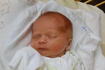 """David Pospěch se narodil 10. října, vážil 2,20 kg a měřil 46 cm. """"Doma už se na miminko těší bráchové Jakub a Radim. Miminku přejeme hodně štěstí, zdraví a lásky,"""" uvedla maminka Simona a tatínek Karel z Hněvošic."""