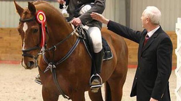 Jiří Hruška s koněm ARITO Z