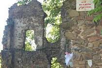 Zřícenina hradu Vikštejn