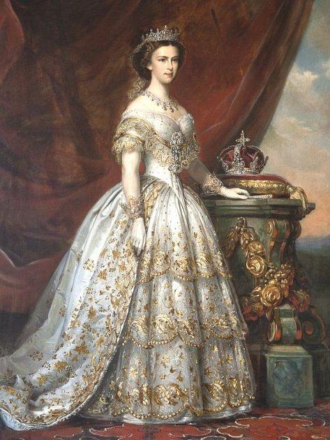 Portrét Alžběty Bavorské, rakouské císařovny přezdívané Sissi, ze sbírek Slezského zemského muzea bude také jedním z exponátů výstavy Země a její pán.