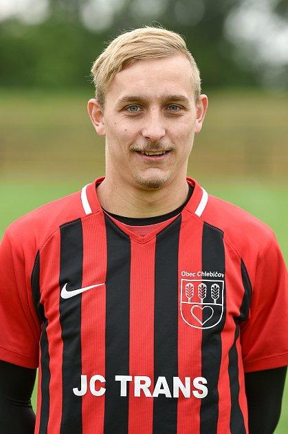 Fotbalový klub SK Viktorie Chlebičov, 9.června 2020vChlebičově. David Loša, záložník.