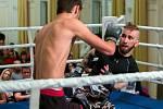 Zajímavý byl i zápas krnovského Nikolase Grigoriadise (vpravo) s Jiřím Juřičkou.