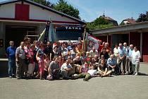 Hasiči z Březové u Vítkova se v loňském roce setkali v Nové Pace.