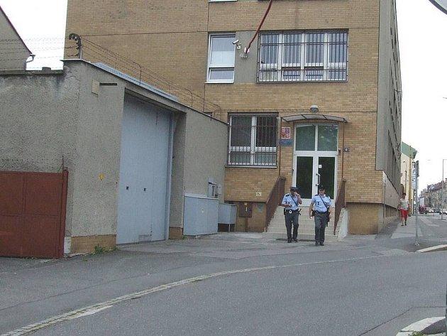 Vězení v Opavě na Krnovské ulici.
