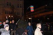 Centrum Opavy rozzářily lampiony