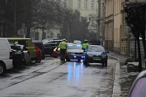 K dopravní nehodě došlo v křižovatce ulic Na Rybníčku a Lidické.