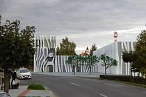 Vizualizace představy soukromého investora a možné podobě centra Bolatic.