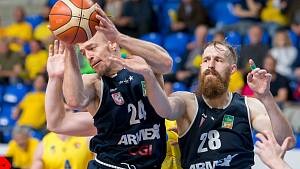 Basketbalové play off: BK Opava – Děčín
