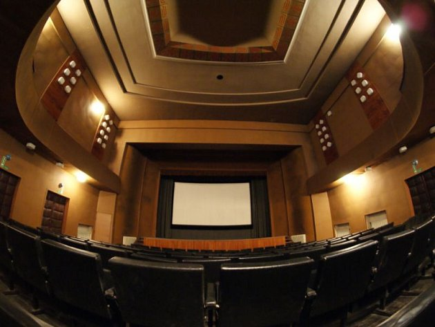 Interiér vítkovského kina. Ilustrační foto.