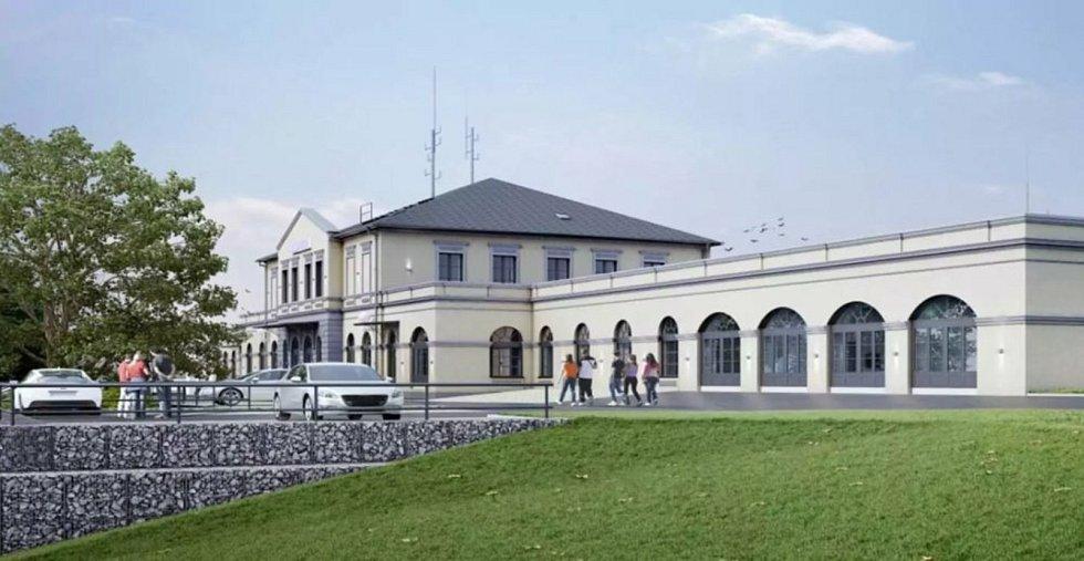 Takto má nádraží vypadat po opravě.