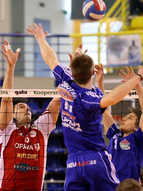 VK Opava - Volleybal.cz Kladno 3:0