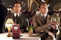 Na filmu Velký Gatsby je lákadlem i herecké obsazení. V hlavní roli je Leonardo DiCaprio (vpravo).