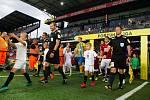 Zápas 1. kola FORTUNA:LIGY mezi AC Sparta Praha a SFC Opava 21. července 2018 v Generali areně v Praze.