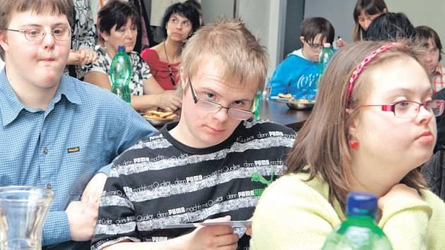 Na setkání byly i děti Základní školy a Praktické školy Slezského odboje v Opavě.