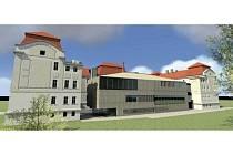 Takto by měla vypadat budova Slezské univerzity na adrese Bezručovo náměstí 14 v listopadu roku 2015.