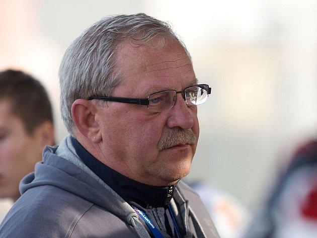 Trenér hokejbalistů Jiří Christ.