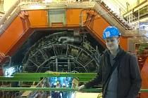 Vojtěch Pacík v CERNu.