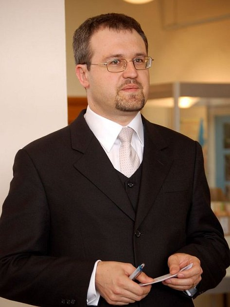 Ředitel Slezského zemského muzea Antonín Šimčík.