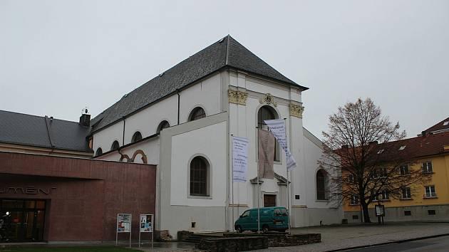 Kostel svatého Václava v Opavě.