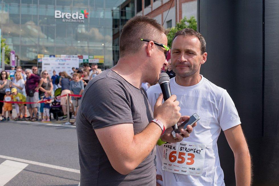 Marek Stromský na závodě Breda city trail.