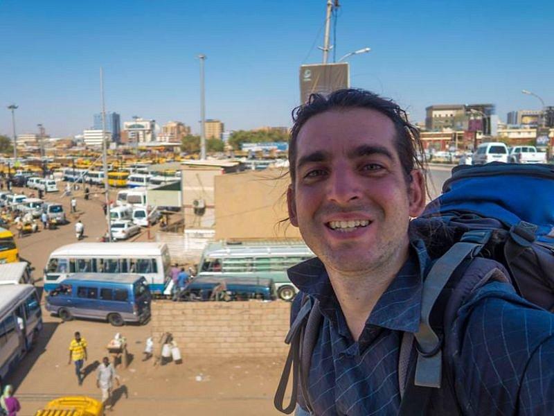 Pavel Klega momentálně pobývá v Súdánu.