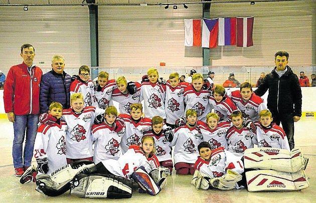 Mladší žáci Slezanu skončili pátí v Polsku.