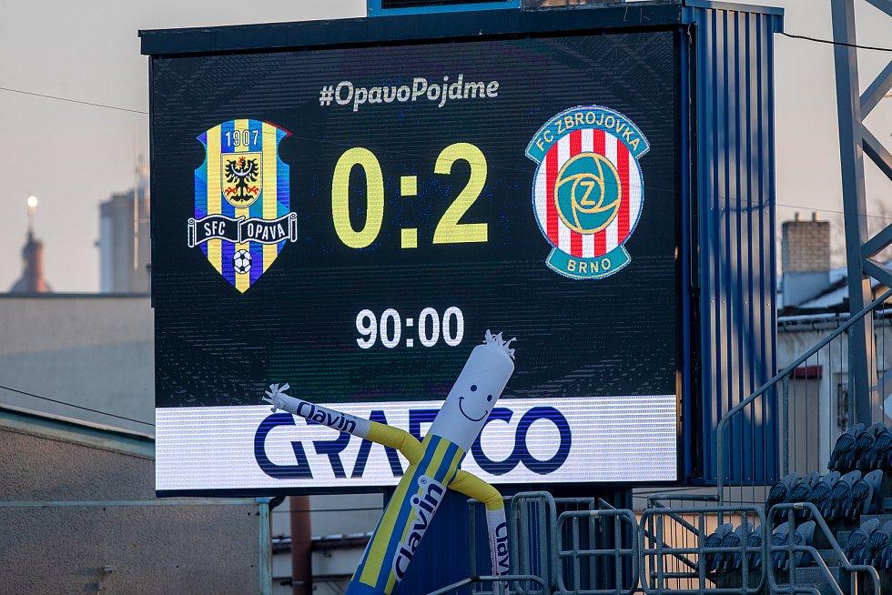 SFC Opava-Zbrojovka Brno 0:2
