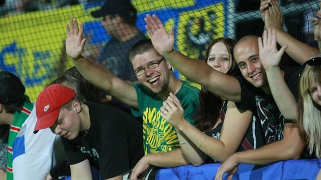 Fanoušci Slezského FC Opava. Ilustrační foto.