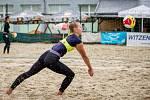 Český pohár 1* žen v plážovém volejbale, 11. července 2020 v Opavě. Marie Makovcová.