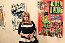 Johana Saudková přiznala, že byla svému muži inspirací pro mnohá díla.