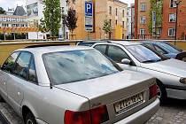 Místa pro parkování rezidentů najdeme v centru Opavy poměrně často.